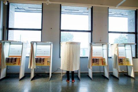 MYE LEDIG PLASS: Altfor mange i Risør ble hjemme på valgdagen. Tallene var hårfint bedre i Gjerstad, men begge burde vært høyere. Var det bare været som hadde skylda? Illustrasjonsfoto: Foto: Vegard Wivestad Grøtt / NTB scanpix