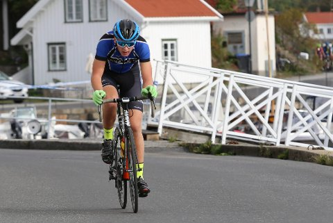 BESTE NORSKE 15-ÅRING: Magnus Sørbø, her fra Risør Grand Prix i fjor, syklet for Region Sør.