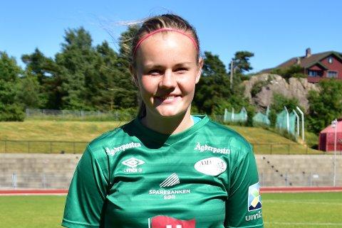 FORSIKTIG OPTIMIST: Sofie Haugland Ausland og Amazon Grimstad er bare målforskjell bak kvalifiseringsplassen til Toppserien.