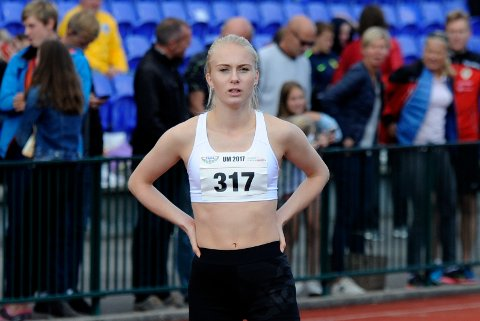 TILBAKE: Anne Hjorth Arntsen vant i comebacket under kretskampen i Grimstad søndag.
