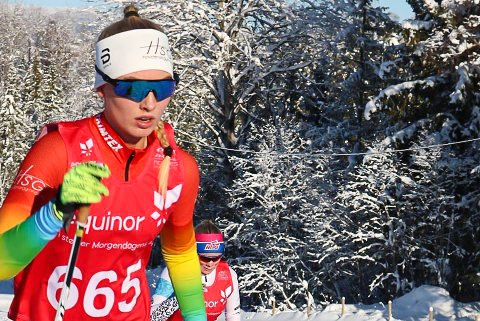 POENGSANKER: Cecilie Wasler Fone gikk sine første renn i norgescupen i helgen.