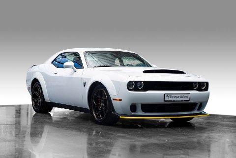SOLGT: I fjor kom denne bilen ut på markedet til 2,85 millioner kroner. Nå er bilen solgt til en samler.