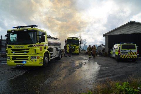 MER RESSURSER: Rådmannen i Sirdal mener kommunen må sette av mer ressurser til brann- og redningstjeneste.