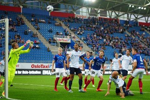 STORSPILL: Vålerenga vant overlegent mot Stabæk søndag kveld.