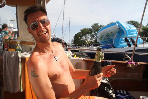 Kvart år legg Vegard Sognefest opp ferien sin slik at han ikkje går glipp av festivalen.