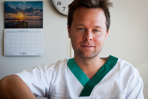 Dag Brochmann, legevaktsjef i Nordhordland.