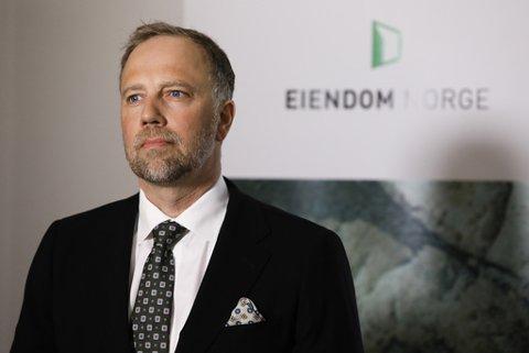 Administrerende direktør Christian Vammervold Dreyer i Eiendom Norge. Foto: Ole Berg-Rusten / NTB scanpix