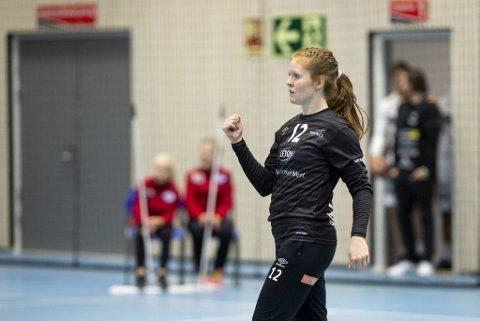 Marie Davidsen (27) er til dagleg førstekeeper i den tyske klubben Thüringer.