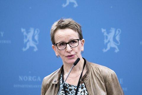 Forhandlingsleder fra staten Viil Søyland på pressekonferansen under kravoverleveringen som innleder årets jordbruksforhandlinger.