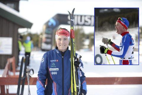 Ingrid Mathisen under Norgescupen på Sjusjøen. Foto: Stian Høgland