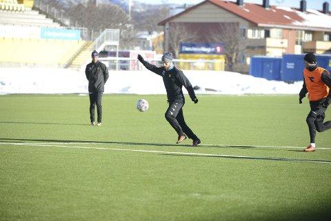Signerer: Thomas Drage signerer trolig for Bodø/Glimt onsdag morgen. Foto: Stian Høgland