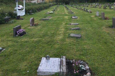 114 gravstøtter ble i slutten av juli veltet på en kirkegård i Gildeskål. Nå er saken oppklart.