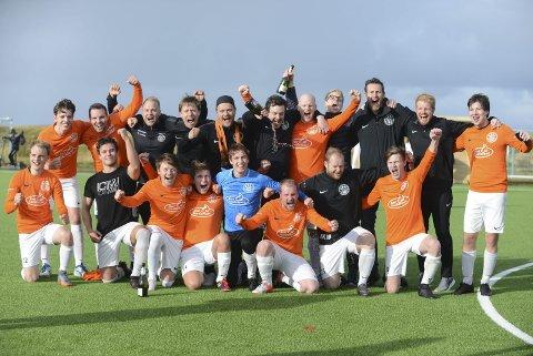 Sendes: Røst spilte feiende flott fotball og rykket opp fra AN-ligaen til 5. div i fjor. Fredag spiller de på ANtv igjen.