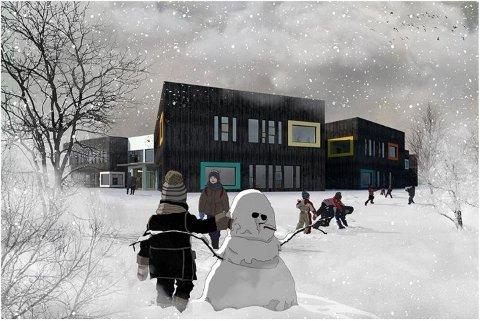 Mørkvedbukta skole skal bygges i massivtre.