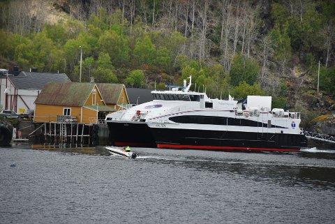 Kaiutfordringer: Det er for tiden flere utfordringer knyttet til framtidig kailøsning på Skutvik.