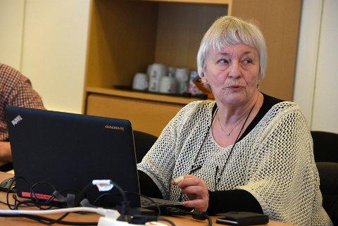 Informerte: Lderen for Nav-kontoret i Steigen, Berit Woie Berg, orienterte om flyktningsituasjonen i formannskapet.