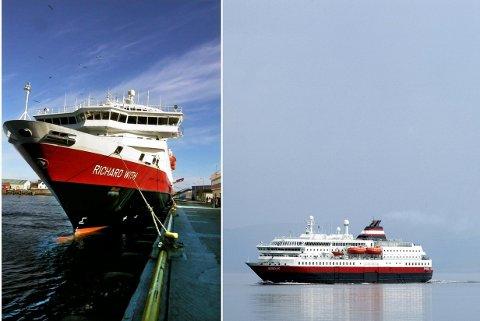 """SOLGT: MS """"Nordlys"""" og MS """"Richard With"""" eies nå av Xiang CR14 HK International Ship Lease Co. ltd."""