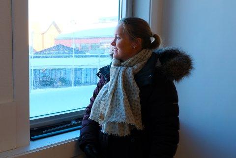 Kersti Kartfjord gleder seg til å flytte inn i de nye lokalene i Tandberggården.
