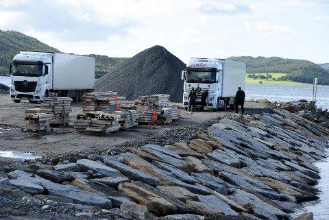 Må på plass: Planene om å bygge ny kai på industriområdet Storskjæret vest er avhengig av at hele finansieringen kommer på plass.