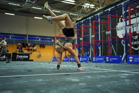 Lena Richter (26) ble nummer to i årets NM functional fitness.