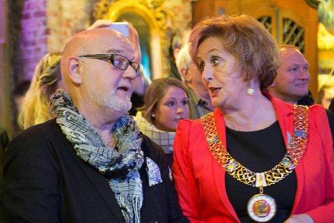 Årets Bergenser 2014 Tor Blaha og Trude Drevland