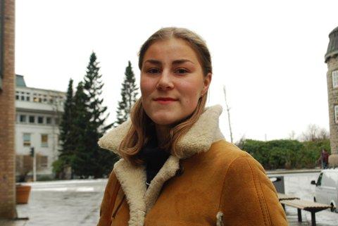 Helene Woll Andreassen (20), medievitenskapsstudent gleder seg til å fortsettes studiene sine i Media City Bergen. Da får hun også vist seg frem for den store mediebransjen.