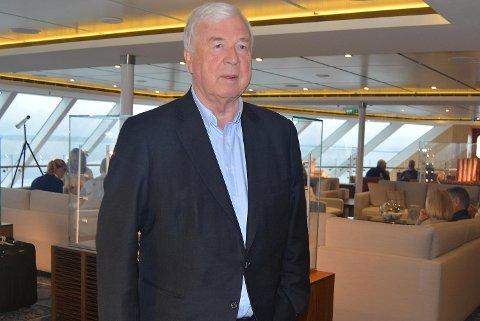 Skipsreder Torstein Hagen i Viking Cruises.