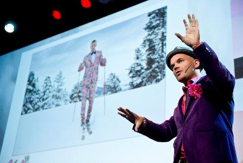 Simen Staalnacke i Moods of Norway på Vestlandskonferansen 2014.