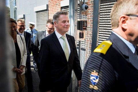 Justisminister Per-Willy Amundsen åpnet i sommer det nye bygget hos Indre Østfold fengsel avdeling Eidsberg med plass til 85 innsatte.