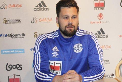 Ruben Hetlevik, trener i Lysekloster.