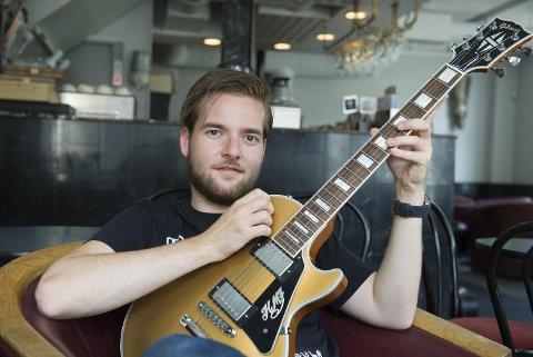 Hans Marius Johnsen har spilt gitar siden han var ni år gammel.