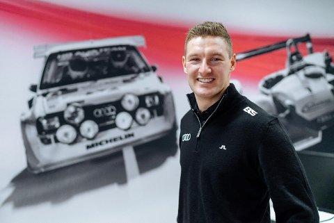 Andreas Bakkerud er klar for Audi-teamet EKS. (Foto: Audi Norge)