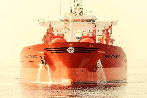 Bow Cardinal er et av Odfjell SEs skip. FOTO: THOMAS KOHNLE, ODFJELL SE