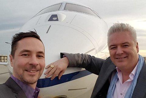 Thor Hermansen (t.v.) og Terje Duesund er blant elleve deltakere i det kontroversielle vervenettverket Lyconet som har opplyst til Lotteritilsynet å ha fått utbetalt til sammen over 30 millioner fra Lyoness i 2016 og 2017.