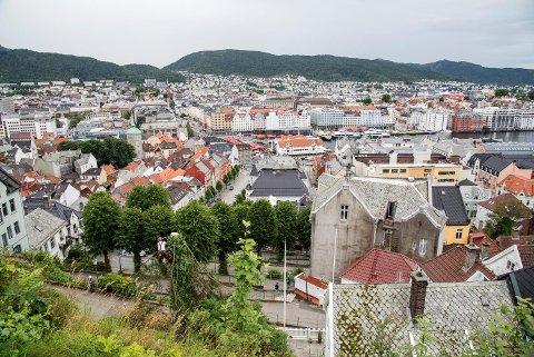 Boligprisene steg i Bergen i mai.