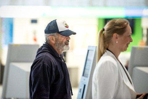 Mel Gibson på Flesland.
