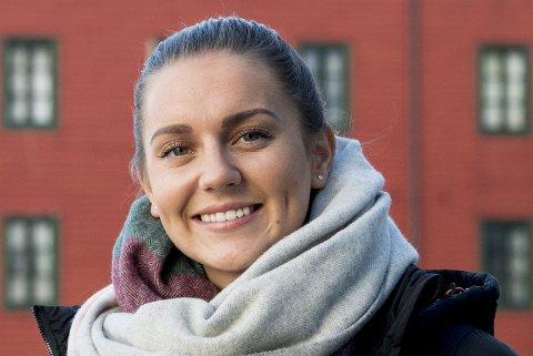 Vilde Bøe Risa er en av fem bergensere som er i Norge-troppen som spiller skjebnekamp mot Nederland i dag. Arkivfoto: ARNE RISTESUND