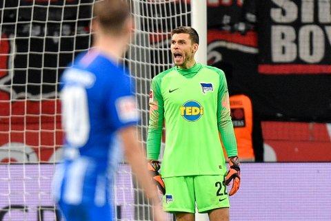 Rune Jarstein holdt nullen for første gang denne sesongen da Hertha Berlin slo Fortuna Dusseldorf 4-0.