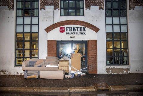 Gaver til Fretex levert på denne måten kan fort bli en kostnad for bedriften istedet for inntekt.