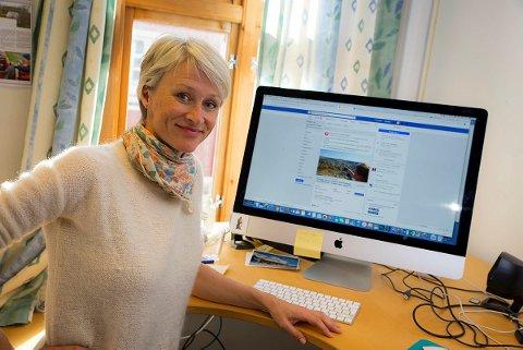 Helene Ødven, daglig leder i Bergen og Hordaland Turlag, inviterer Mark Zuckerberg til Stølsheimen. Nå venter hun og resten av turlaget på svar.