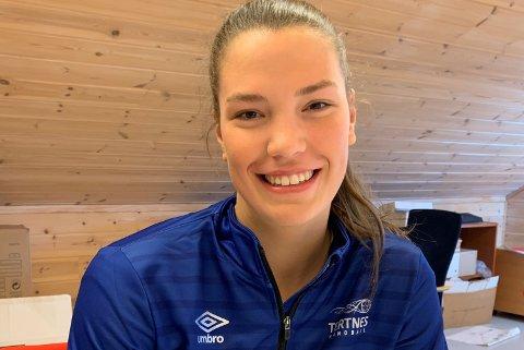 Eva Erdal Moen, ny Tertnes-spiller. Kommer fra Gneist.