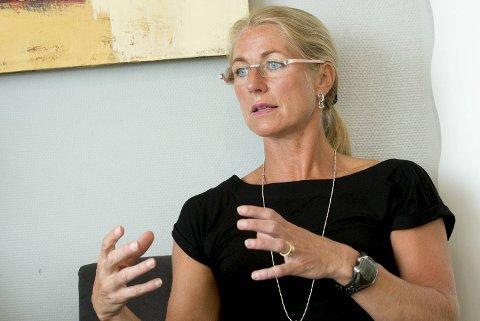 Camilla Grieg har kun få dager igjen som administrerende direktør i Grieg Star.