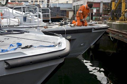 Forsvaret har lenge vært en viktig kunde for virksomheten med tilhold på Laksevåg i Bergen.