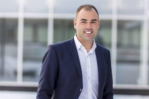 Konstituert regionsjef Espen Stensbye Skotvold i DNB Eiendom