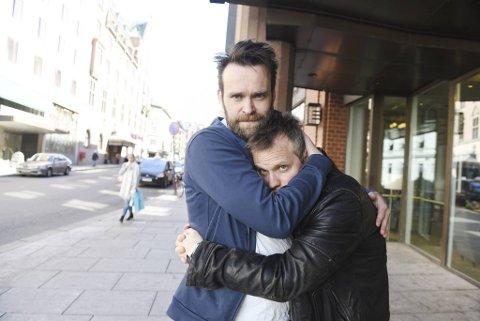 Vidar Magnussen, her sammen med Lars Bleiklie Devik, er nominert som årets store humorist.