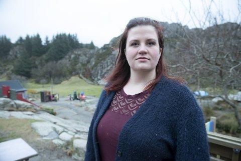 Lene Venge og en rekke andre foreldre er bekymret for barnehagetilbudet fremover.