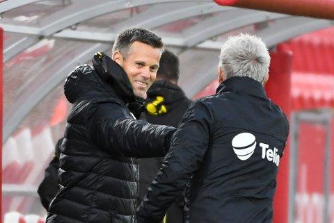 Det har vært sikkert lenge, men nå er det også helt klart. Kjetil Knutsen har ledet Bodø/Glimt til klubbens første seriemesterskap.