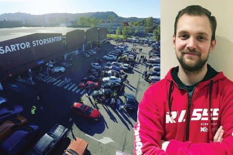 Mats Tony Sandvik har funnet gleden i gatebilklubben RV555.