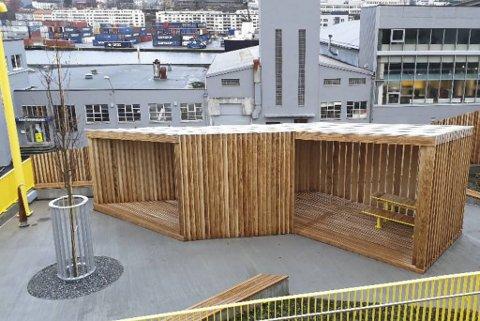 Takket være rusparken føler flere og flere naboer at det er tryggere å bruke gangtunnelen på Damsgård.