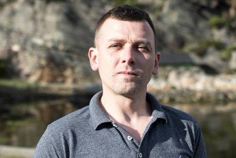 Krzysztof Jedlikowski var hovedtillitsvalgt for NNN-medlemmene på fiskeslakteriet på Sotra.